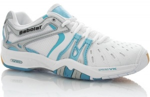 Babolat Shadow Badminton Frauen weiß Schuh