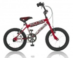 ABRAR ACROBAT 16 JONGENS BMX V1 ROOD