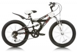 ABRAR MX20 MTB V6 ZWART WIT