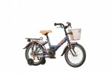 BATAVUS KOALA 16 25CM MEISJES RN LILA BLUE