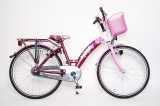 BIKE FUN PAPILLON 24 38CM MEISJES RN ROZE PAARS