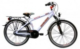 BIKE FUN ROCKBIKE 24 35CM JONGENS RN SILVERWHITE GREY