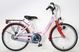 BIKEFUN FLOWER FUN CITY 20 MEISJES ROZE ROOD
