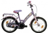 BIKEFUN PRINCESS 18 MEISJES RN LILA ROZE