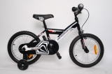 DIAMOND K16 16 KINDERFIETS RN ZWART