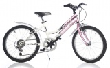 DINO 420D MTB CONCEPT 20 MEISJES V6 WIT ROZE