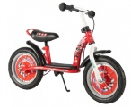 DISNEY CARS LOOPFIETS 12-INCH ROOD WIT