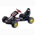EDDY TOYS SKELTER GO KART ZWART