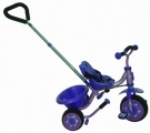 FREEWHEELS DRIEWIELER PAARS BLAUW