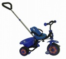 FREEWHEELS DRIEWIELER ZWART BLAUW
