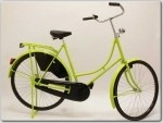 FT DELTA 24 45CM OMAFIETS RN LIME GROEN