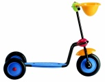 ITALTRIKE ABC SCOOTER BLAUW GEEL  ROOD