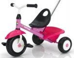 KETTLER DRIEWIELER FUNTRIKE ROSE FUCHSIA WIT ZWART
