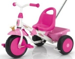 KETTLER DRIEWIELER HAPPYTRIKE PRINSES ROSE FUCHSIA WIT ZWART