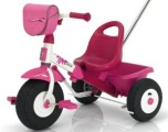 KETTLER DRIEWIELER TOPTRIKE AIR LAYANA ROSE FUCHSIA WIT ZWART