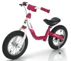 KETTLER LOOPFIETS RUN AIR LAYANA WIT ROOD ZWART