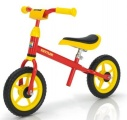 KETTLER LOOPFIETS SPEEDY 10 INCH ROOD GEEL ZWART