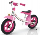 KETTLER LOOPFIETS SPRINT AIR PRINSES ROSE FUCHSIA WIT ZWART