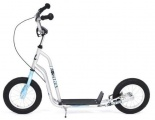 KICKID FUN LINE STEP 12 BLUE SILVER SCOOTER