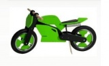 KIDDIMOTO LOOPFIETS SUPERBIKE GREEN BLACK