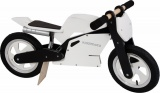 KIDDIMOTO LOOPFIETS SUPERBIKE WHITE