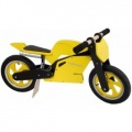 KIDDIMOTO LOOPFIETS SUPERBIKE YELLOW BLACK