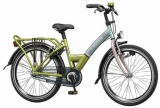 LOEKIE BIGBIKE URBAN 22 36CM MEISJES RN GROEN BLAUW