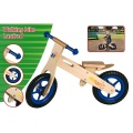 MARIONETTE LOOPFIETS HOUT 35CM BLAUW