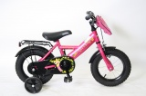 MICKEY BIKE 12 MEISJES RN FUXIA ROZE