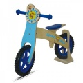 MICKEY BIKE HOUT BLAUW