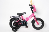 MICKEYBIKE 12 MEISJES RN FUCHSIA ROZE