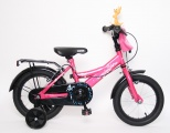 MICKEYBIKE 12 MEISJES V1 FUCHSIA ROZE