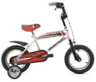 MONTEGO TURBO BMX 12 JONGENS GRIJS ROOD