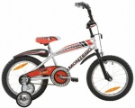 MONTEGO TURBO BMX 16 RN WIT ROOD