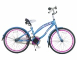 POPAL BELA CRUISER 20 MEISJES RN BLAUW