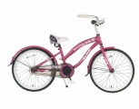 POPAL BELA CRUISER 20 MEISJES RN DONKER ROZE