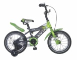 POPAL BIKE 2 FLY 14 JONGENS GROEN
