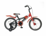 POPAL BIKE 2 FLY 16 JONGENS RN ROOD ZWART JONGENS