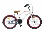 POPAL CRUISER 20 INCH JONGENS RN WIT 