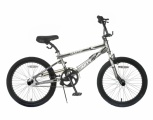 POPAL STUNTFIETS TB06 20 JONGENS ZILVER