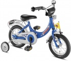 PUKY ZL12-1 ALU 12 KINDERFIETS RN BLAUW VOETBAL