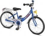 PUKY ZL16-1 ALU VOETBAL 16 KINDERFIETS RN BLAUW