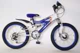 RALEIGH MX20 RACING 20 JONGENS ATB V6 BLAUW WIT
