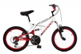 REDBACK CONCEPT 20 JONGENS ATB V6 WIT ROOD