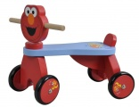 SESAMSTRAAT LOOPFIETS ELMO 4 WIELEN