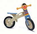 SESAMSTRAAT LOOPFIETS HOUT ERNIE