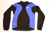 SHIMANO SHIRT LANGE MOUW + RITS WINDFLEX JERSEY RACE BLAUW ZWART MAAT L
