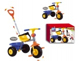 SMART DRIEWIELER MY FIRST TRIKE BLAUW GEEL ORANJE