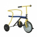 TRICYCLES CLASSIC DRIEWIELER MET HOUTEN PLANK BLAUW