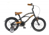 TROY BEACHCRUISER BOY 16 JONGENS RN MAT ZWART